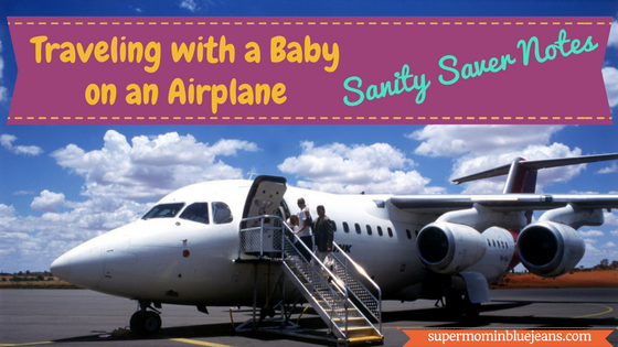 traveling with a baby on plane