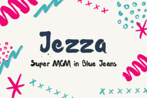 super mom in blue jeans
