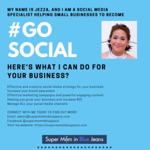 Social Media Marketing Strategy - Super Mom in Blue Jeans